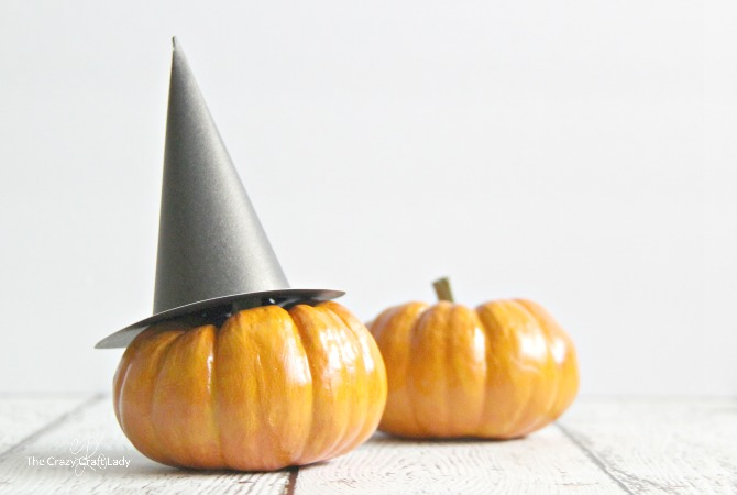 graphic regarding Witch Hat Printable known as Mini Witch Hat and Printable Template for Halloween - The