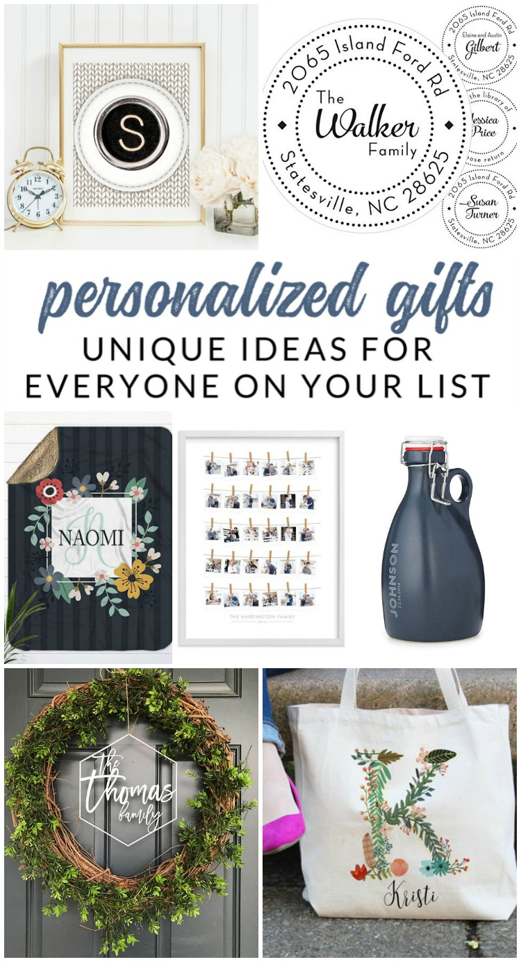 Unique personalized gifts sure to wow everyone on your list the wow everyone on your list with one of these unique personalized gifts ive negle Gallery