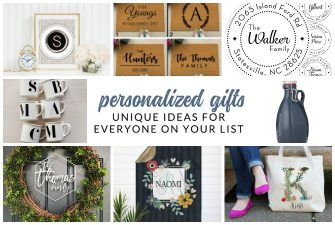 Unique personalized gifts sure to WOW everyone on your list