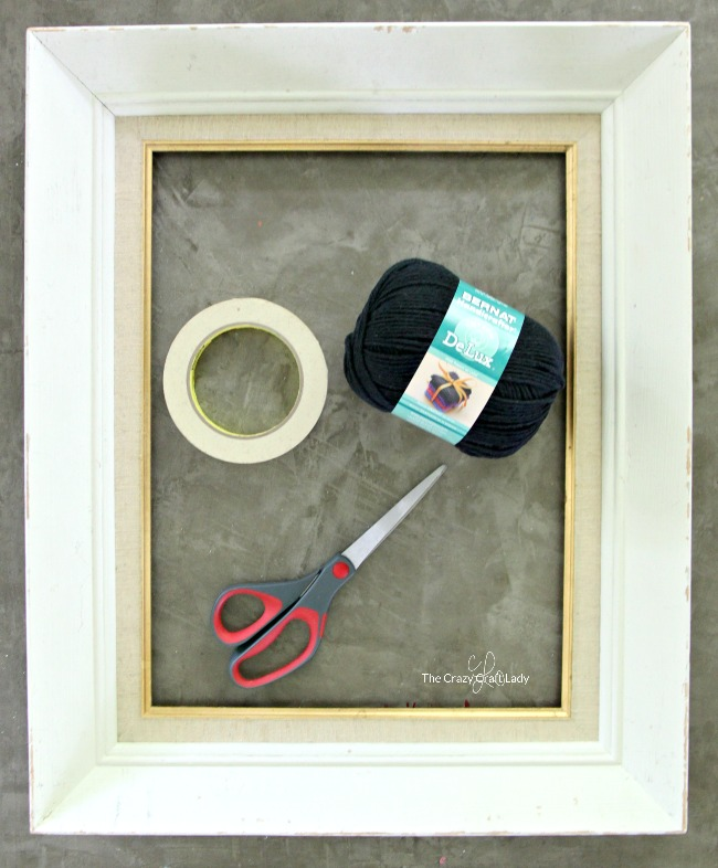 how to make a spider web using yarn