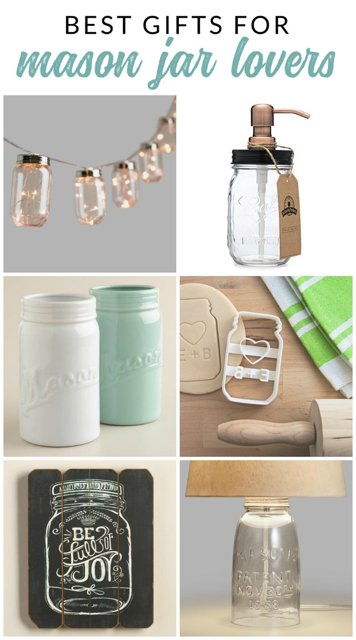Ultimate gift guide for mason jar lovers accessories for Gift ideas for craft lovers