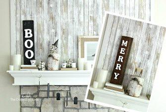 DIY Reversible Reclaimed Wood Sign – Perfect for Seasonal Decor