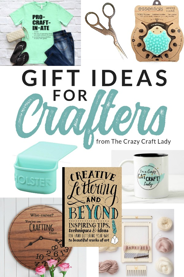 Gifts For Crafty People And Creatives The Crazy Craft Lady