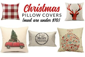 17 Insanely Affordable Christmas Pillow Covers