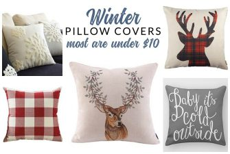 Winter Throw Pillows – Affordable Options for Every Style