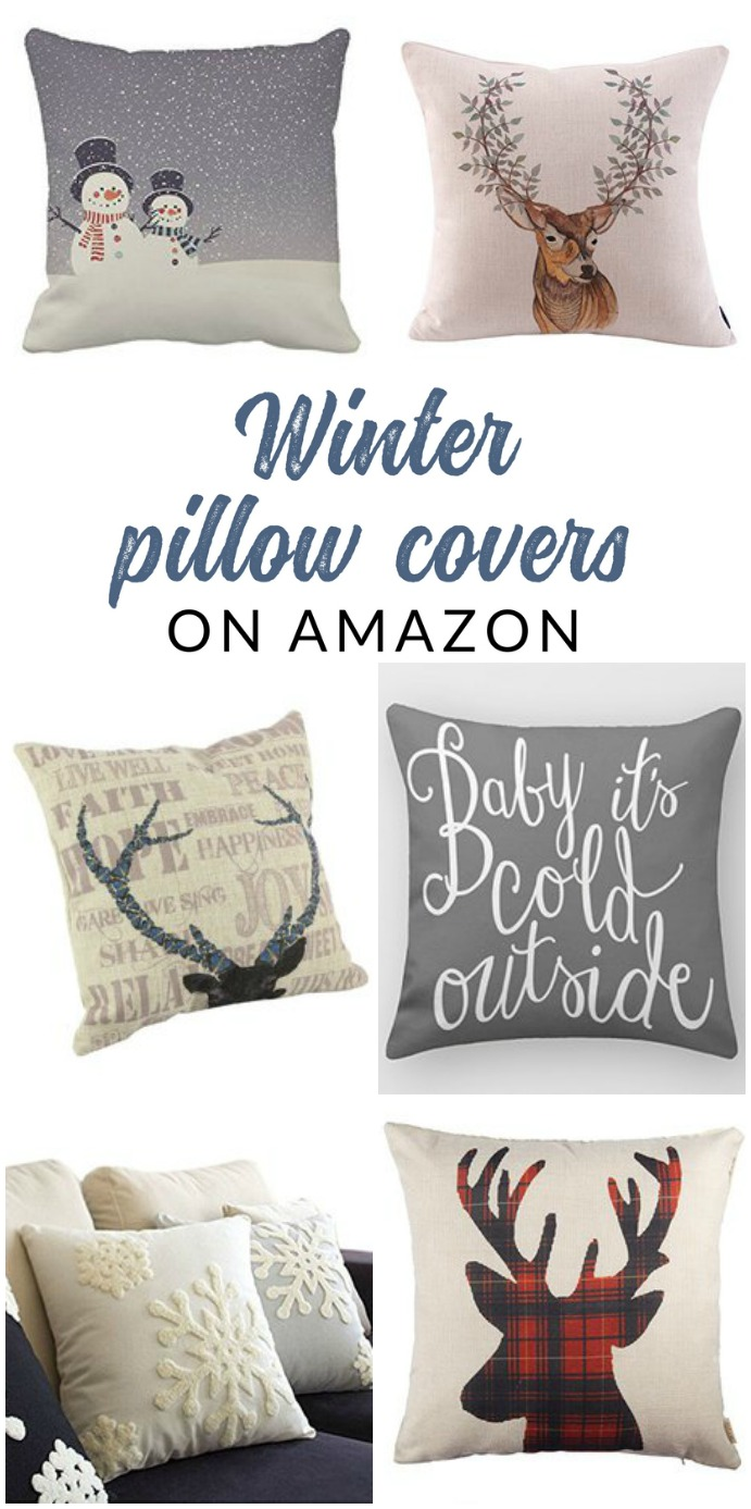 Shop Affordable Winter Throw Pillows And Pillow Covers Of All Styles U2013  These Budget Friendly Buys