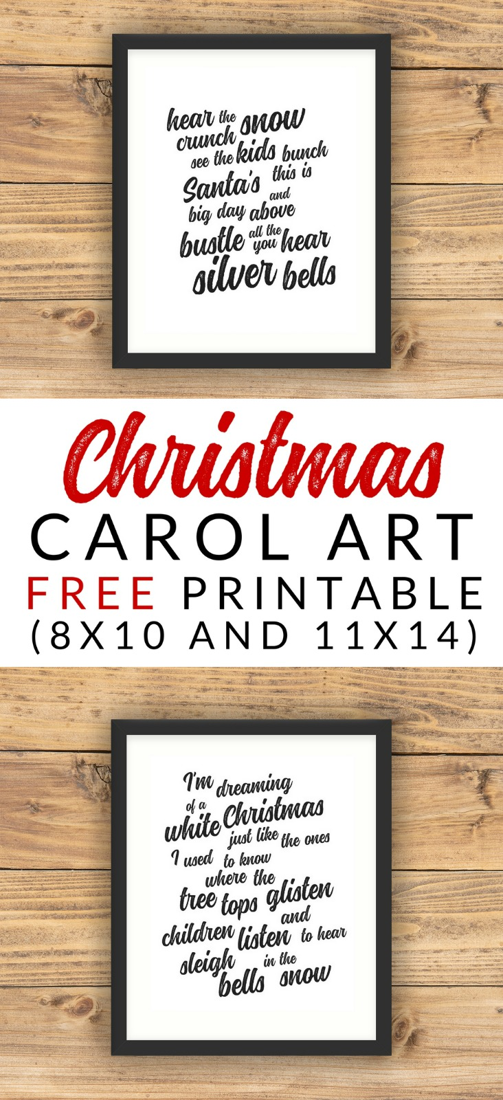 Christmas carol art free christmas printables the crazy craft lady these free printable christmas carol art prints would make a fantastic addition to any holiday gallery stopboris Images