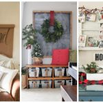Deck the halls this holiday season with inspiring DIY Christmas wall decor projects. These Christmas decorating ideas are simple, cheap, and gorgeous, so come check them out!