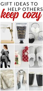 Warm and cozy gift ideas for everyone on your holiday shopping list.