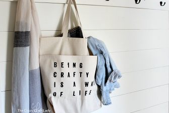 Crafting on the go: How to Make a Custom Craft Tote Bag