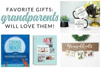 Gift Ideas for Grandma and Grandpa – Favorite Grandparent Gifts