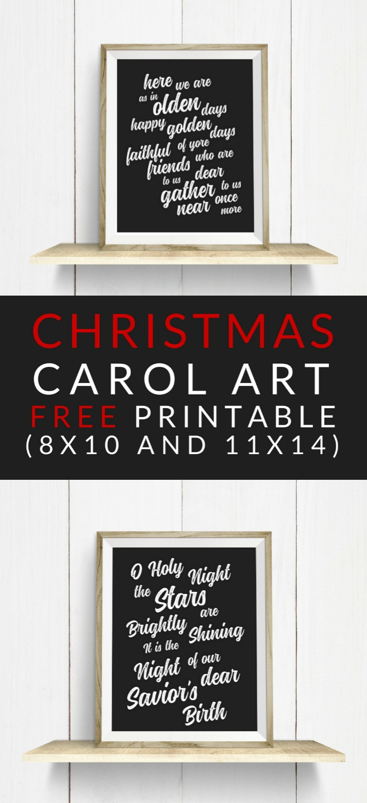 graphic about Christmas Carol Lyrics Printable Booklet identified as Xmas Carol Artwork - Absolutely free Xmas Printables - The Nuts