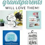 Find the perfect gift for grandma and grandpa this year with these Favorite Grandparent Gifts. Thoughtful and meaningful gift ideas from the grand kids.