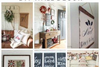 Deck the Walls – 14 Inspiring DIY Christmas Wall Decor Ideas
