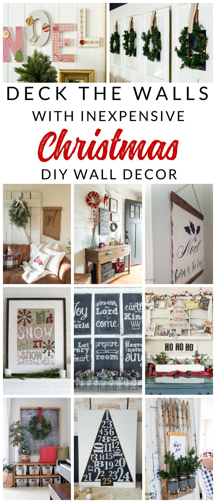 deck the halls this holiday season with inspiring diy christmas wall decor projects these christmas - Christmas Wall Decor
