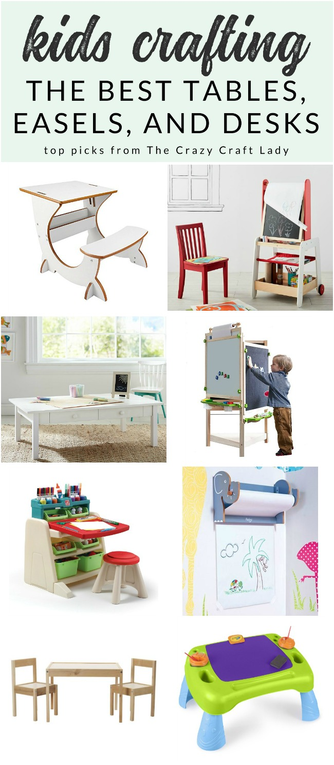 Create the Perfect Kids Art Center – My Favorite Tables, Easels, and Desks