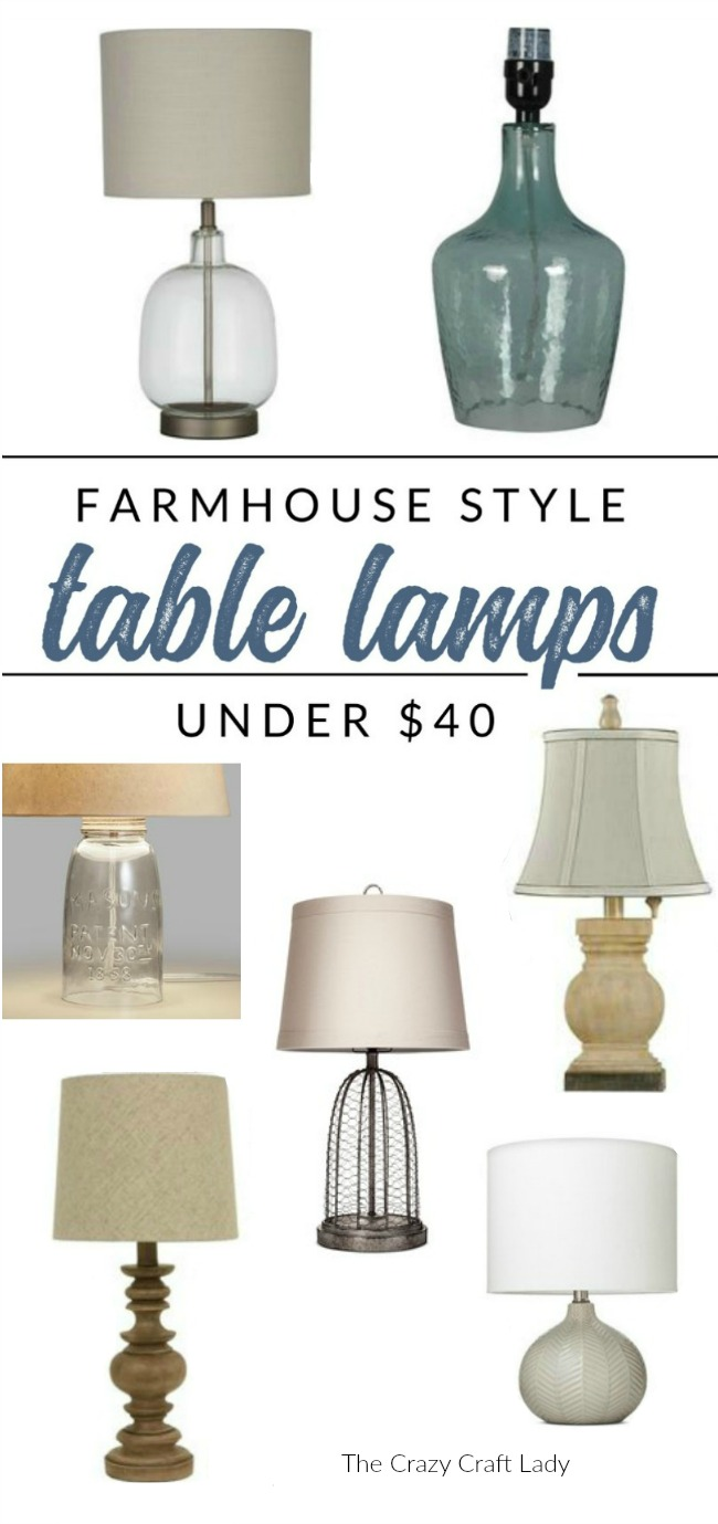 Farmhouse Lamps – Budget-Friendly Style for Under $40