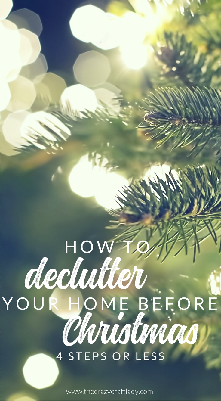 Declutter before Christmas – Why this is the best time to get organized, and how to do it
