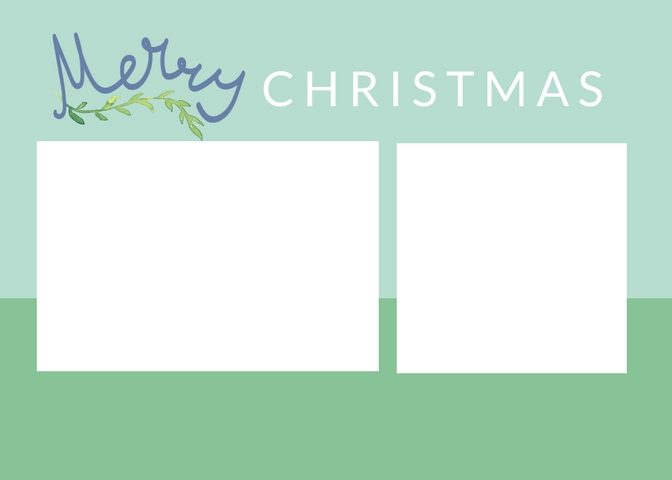 These Free Christmas Card Templates They Re Easy To Edit With No