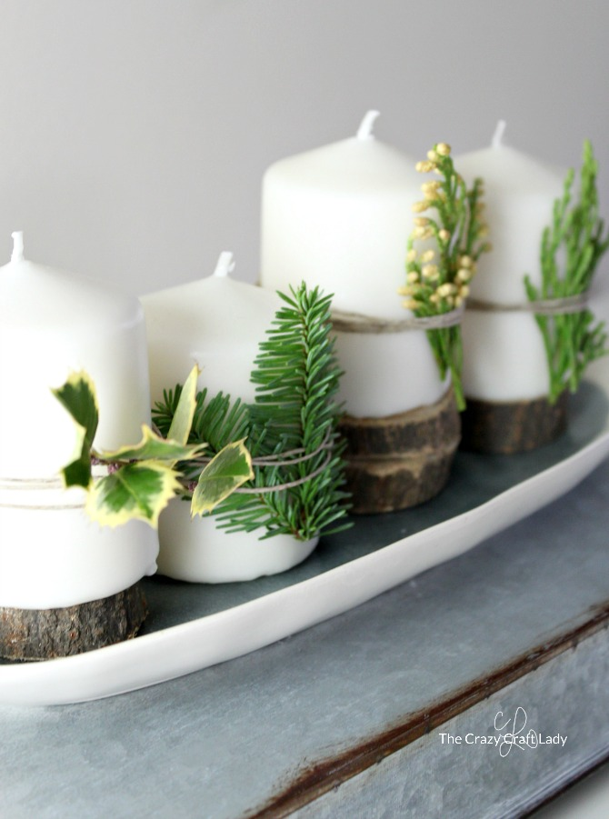 Farmhouse Advent Wreath