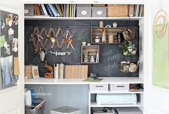 Designing a Closet Desk and Functional Home Work Space
