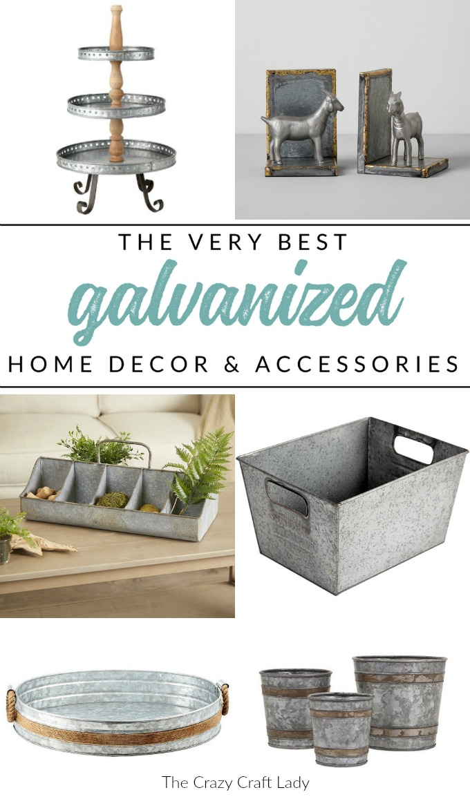 Shop My Top Picks For Galvanized Decor And Home Accessories, All While  Sticking To A