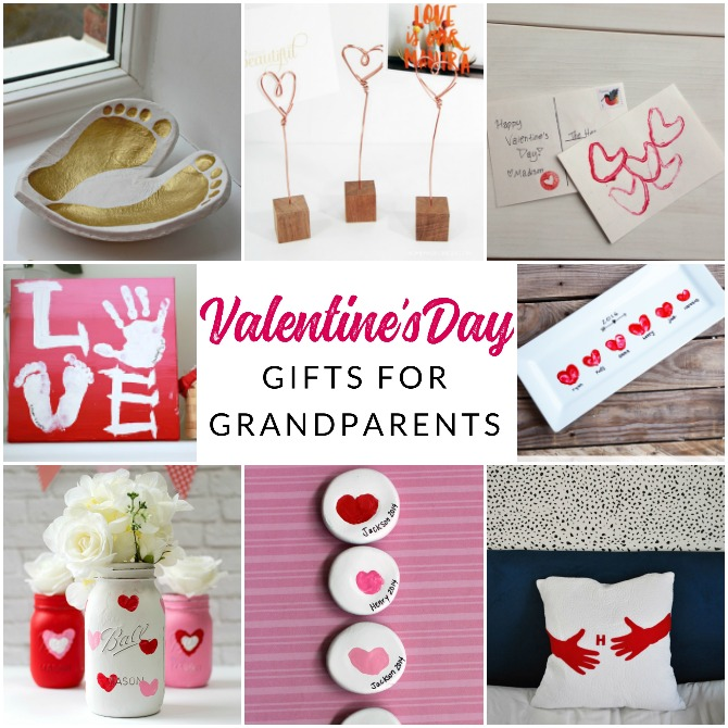 Make it a handmade and heartfelt Valentine's Day with these 9 grandparent Valentines gift ideas. Give a handmade keepsake gift to grandma and grandpa that's filled with love.
