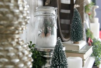 Mini Snow Globe – Make a Winter Scene in a Glass Jar