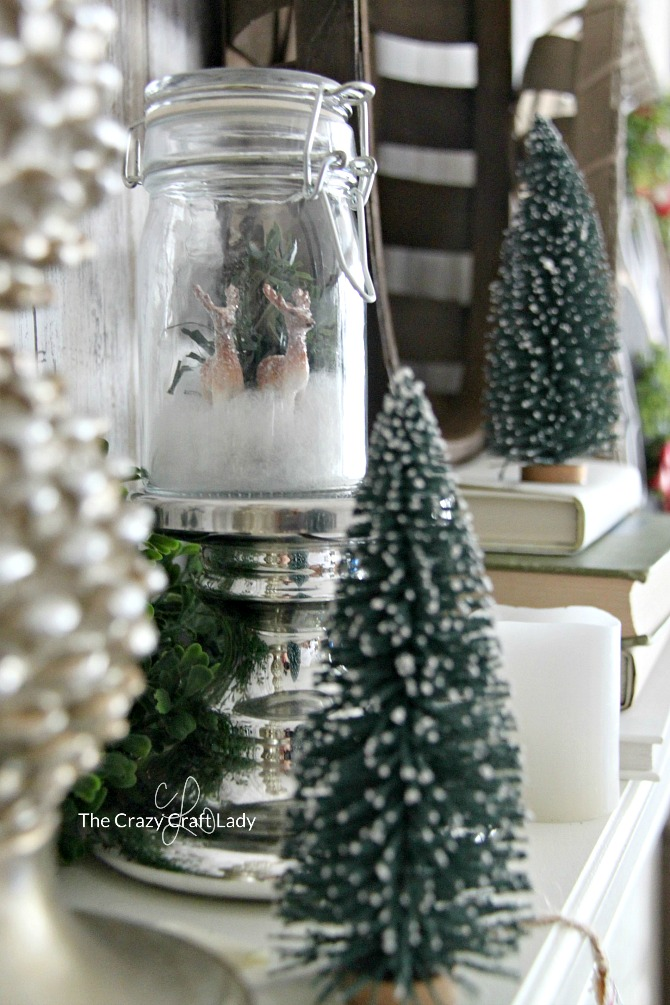 Mini Snow Globe – Make a Winter Scene in a Glass Jar