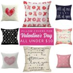Shop gorgeous Valentine pillows and covers – these budget-friendly buys are perfect for changing your home decor for Valentine's Day. Decorate with affordable throws and pillow covers.