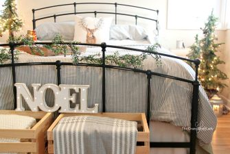 Winter Bedroom Decor – A Warm and Cozy Farmhouse Bedroom