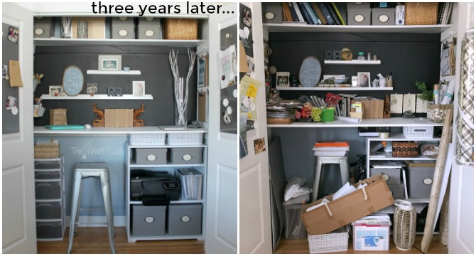 I Love My Home Office Space, But I Wanted To Make The Following Updates To Make  More Functional Organizing And Update The Decor Of The Space: