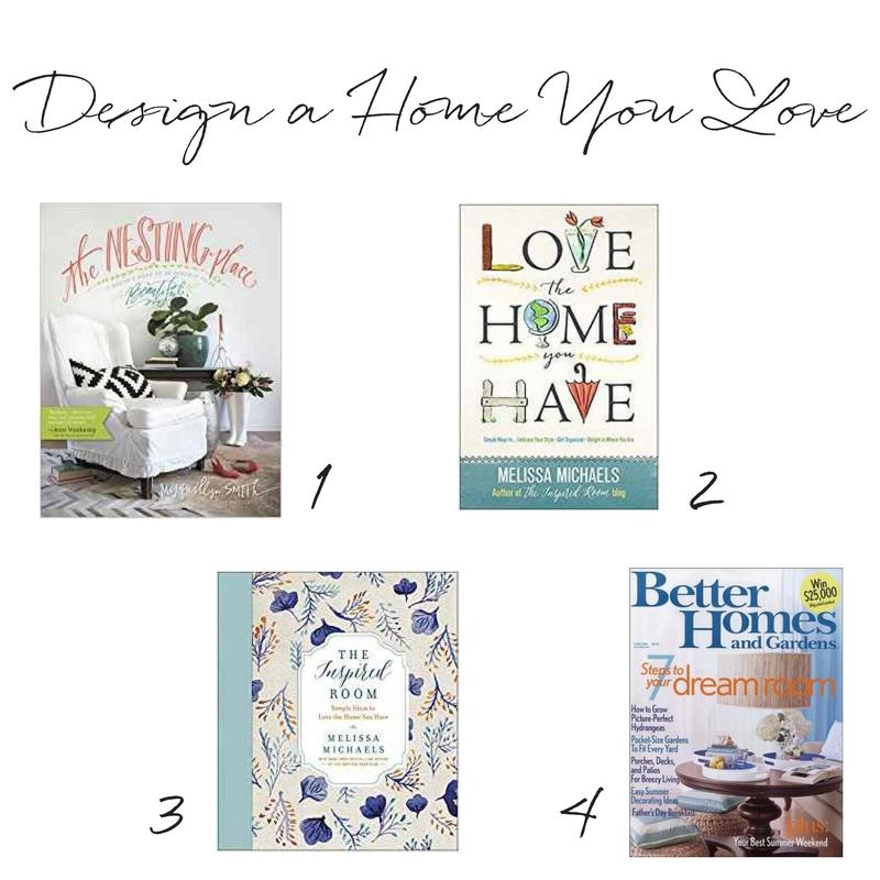 Home decor books - design a home you love