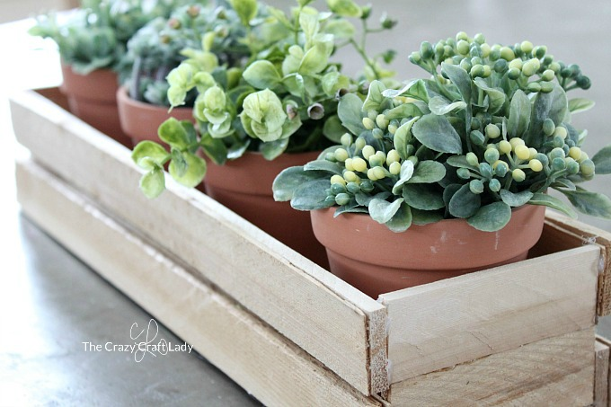 Make A Diy Wood Planter Box From Wood Shims The Crazy Craft Lady