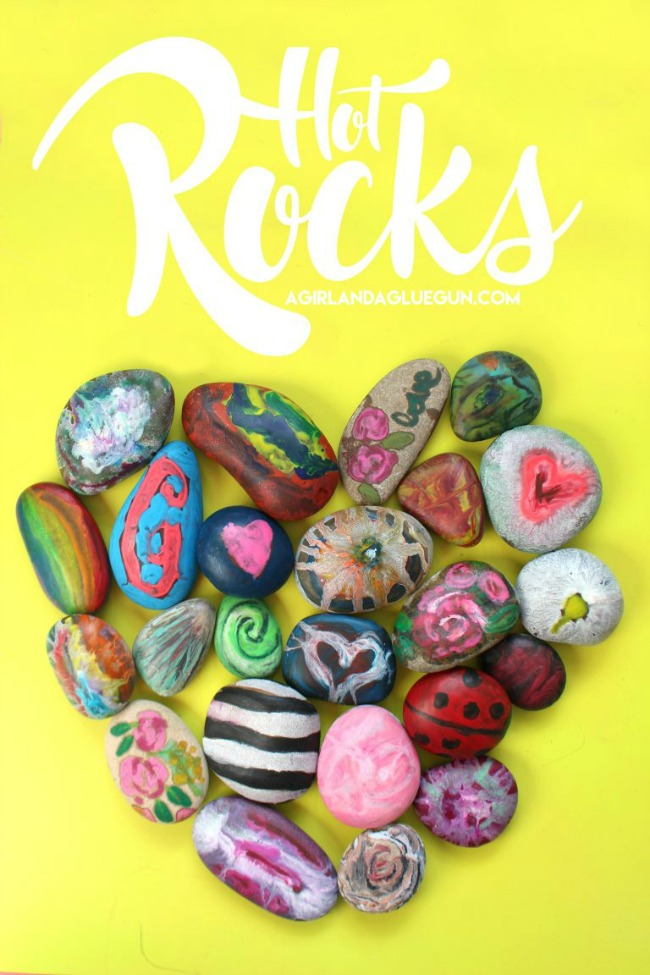 Hot Rocks Crafting - Crafts with old crayons