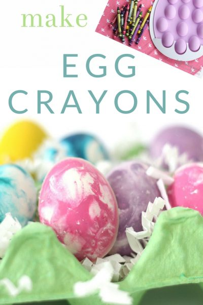 How to Make Colorful Egg Crayons – an Easter Coloring DIY