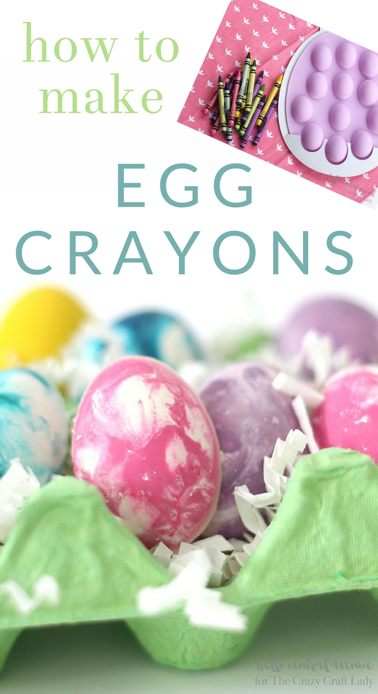 Learn how to make colorful egg crayons, a perfect addition to the kids' Easter basket or for an Easter coloring activity. This fast and easy DIY project is full of color and fun.