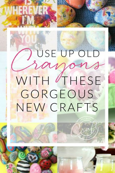 Clever Ways to Use Broken Crayons – Colorful Upcycle Crafts