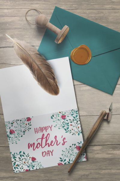 Oh-So-Pretty Printable Mothers Day Card