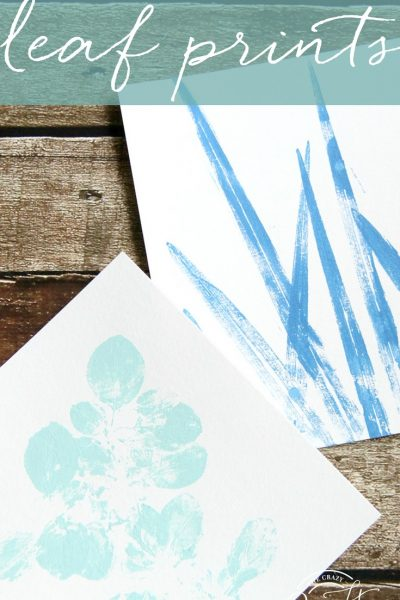 Leaf Painting Craft – How to Make Painted Botanical Prints