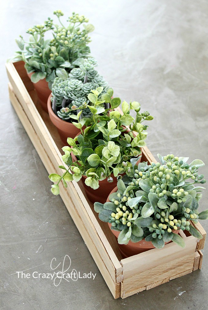 Make A Diy Wood Planter Box From Wood Shims The Crazy