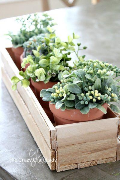 Make a DIY Wood Planter Box from Wood Shims