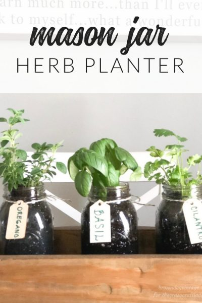 Easy DIY Herb Garden