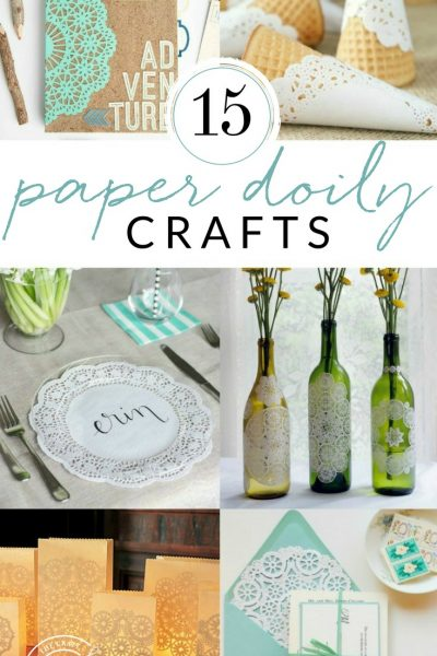 15 Beautiful Paper Doily Crafts