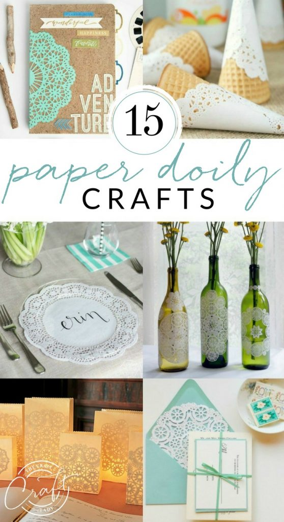 15 Beautiful Paper Doily Crafts The Crazy Craft Lady