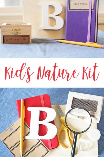How to make an Easy Kids Nature Kit