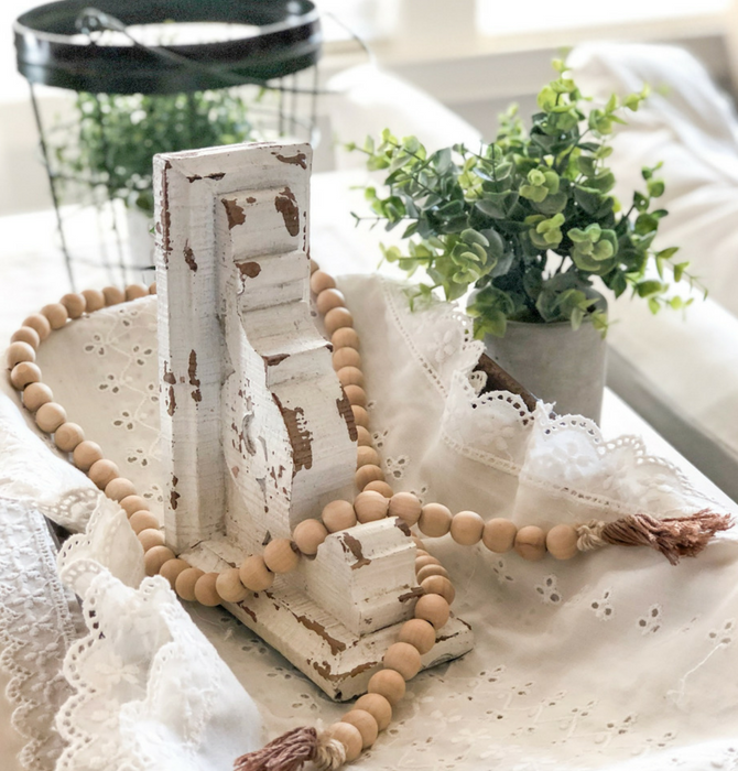 DIY Wooden Bead Garland