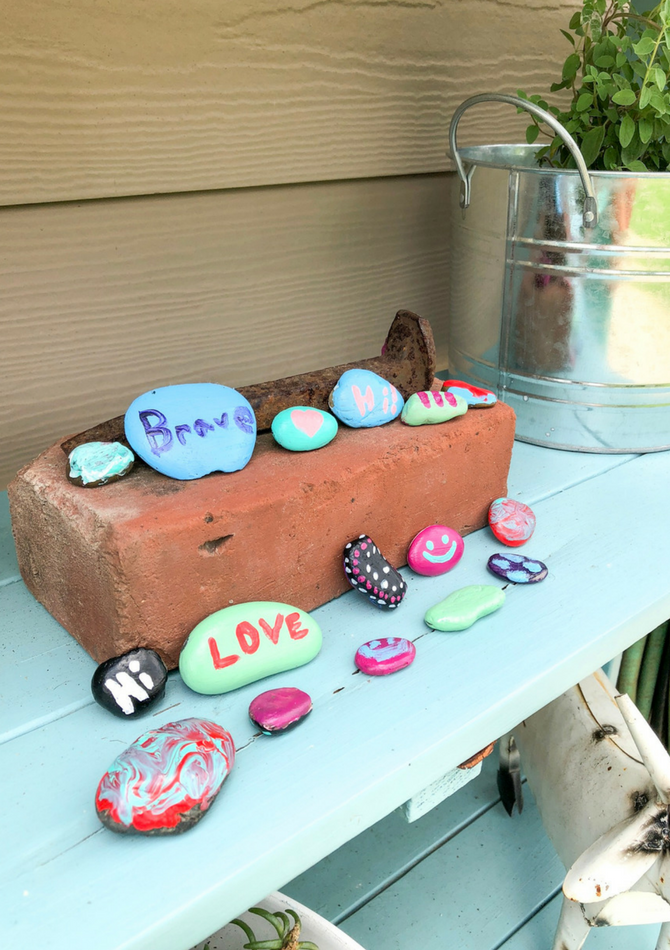 DIY Painted Rocks For Kids