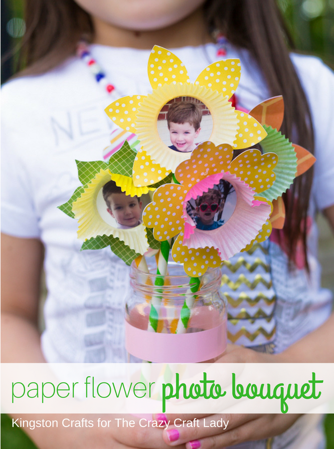 Looking for a fun kids craft that will tug at your heartstrings but not at your wallet? This paper flower bouquet is a fun project you can do together that anyone would love to receive!