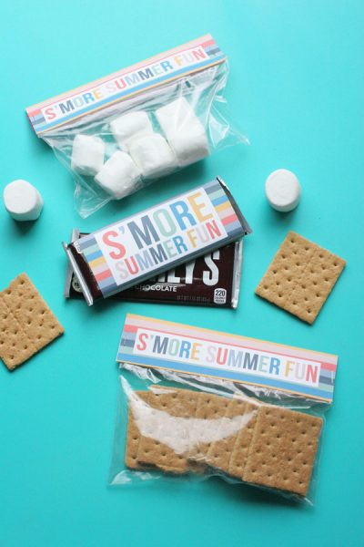 Easy Smores Kit with Free Printables